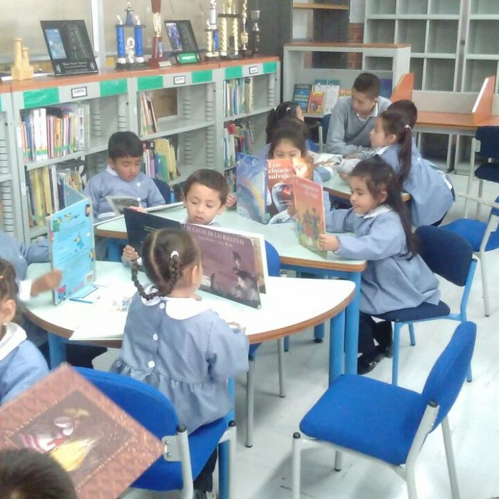 Visita a biblioteca